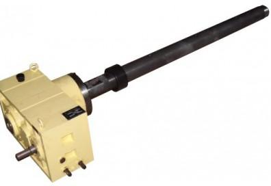 Шнек, цилиндр, редуктор 45 мм