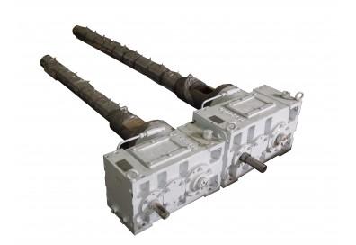 Шнек-цилиндр (65 мм), редуктор к экструдеру ЕВ65Т